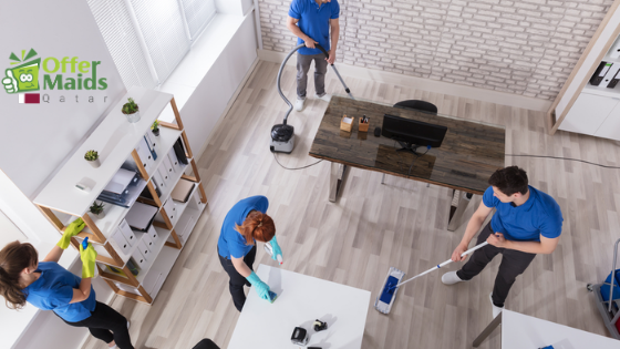 office cleaning in Qatar